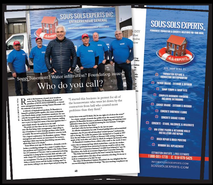 SS Experts mars 2021 : article paru dans le magazine Panoram Italia